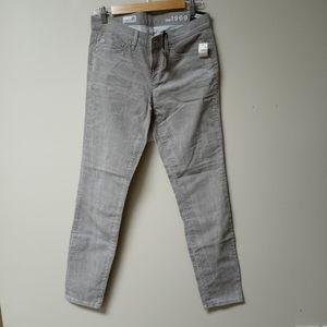 Gap Woman's Grey Skinny Jeans